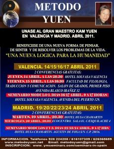 YUEN EN ESPAÑA. ABRIL 2011